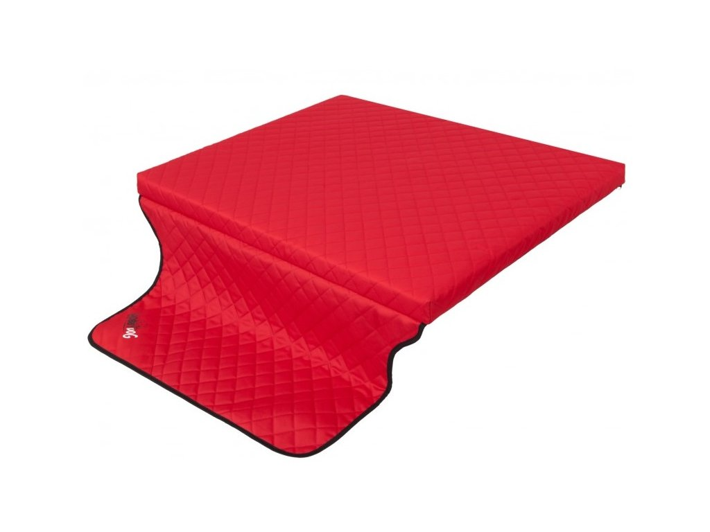 Cestovní matrace LIGHT TRUNK červená1