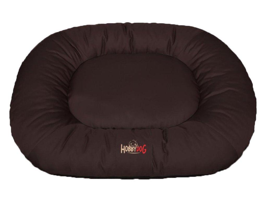 1 Ponton oválný Comfort hnědý