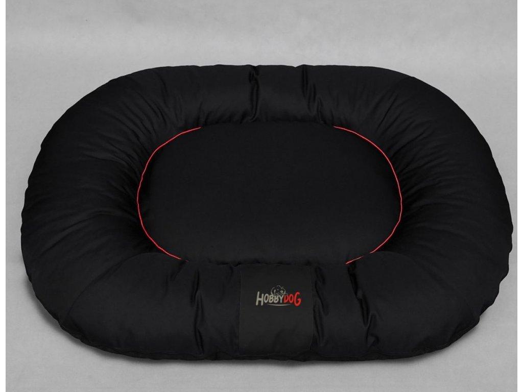 1 Ponton oválný Comfort černý