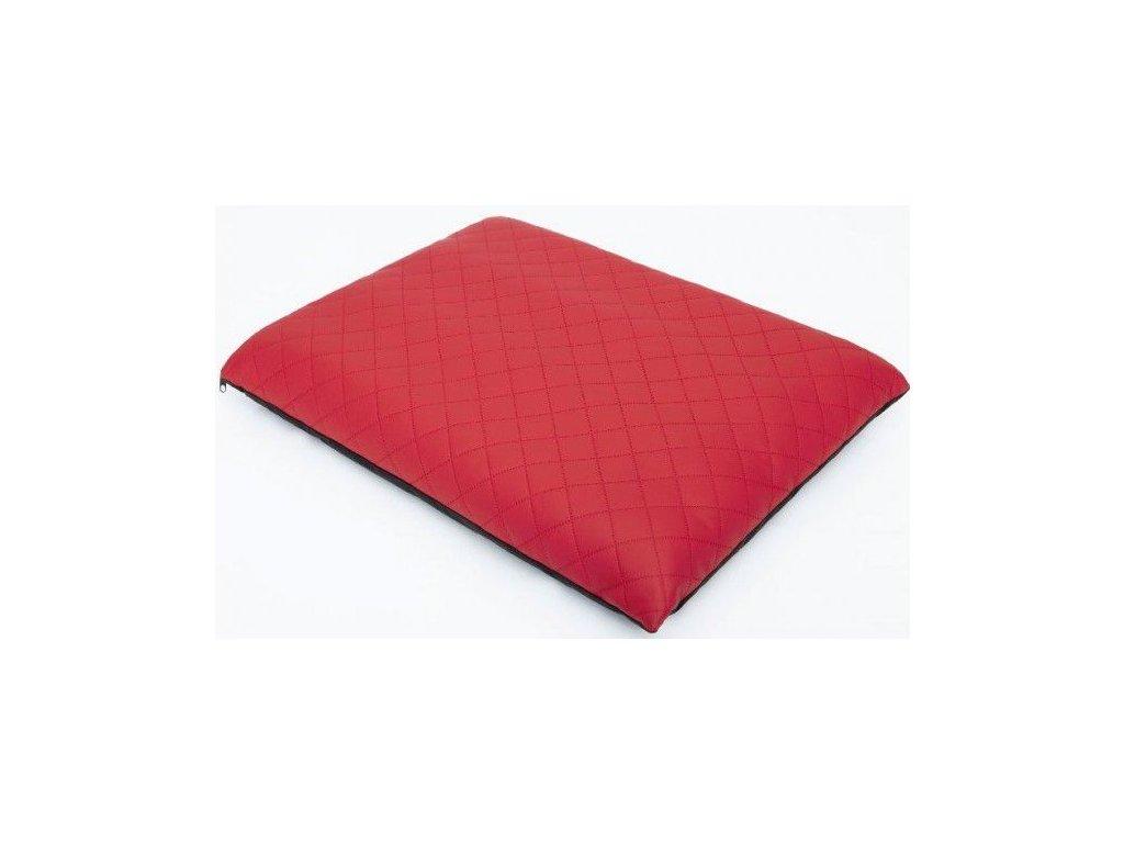 Matrace pro psa Elite červená Eko kůže1