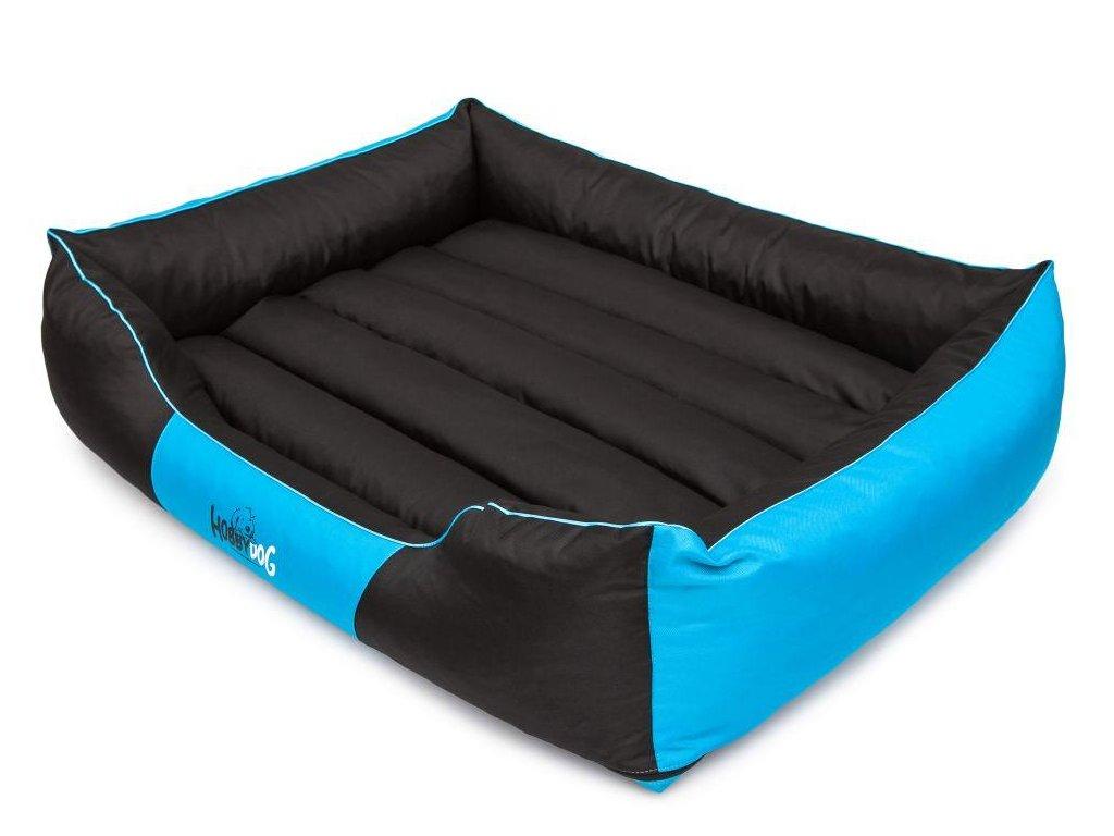Pelíšek pro psa Comfort modrý1