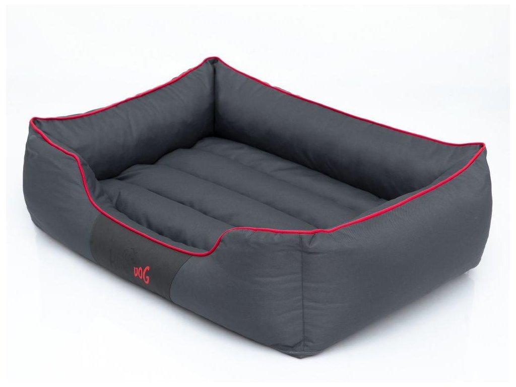 Pelíšek pro psa Comfort šedý1
