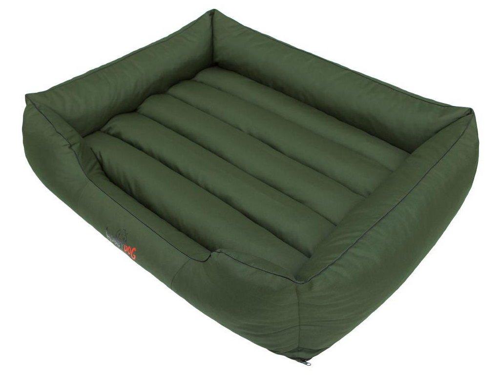 Pelíšek pro psa Comfort zelený1