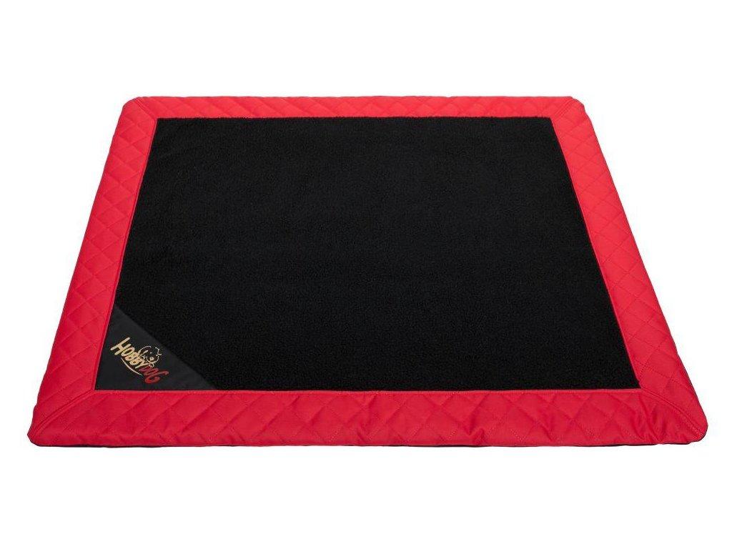 Matrace pro psa Exclusive černá a červený okraj1