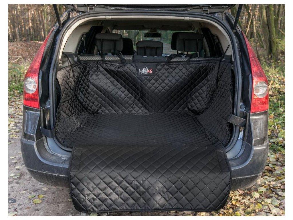 Ochranný potah kufru do auta černý1