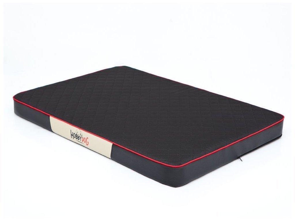 Ortopedická matrace pro psa Premium černá1