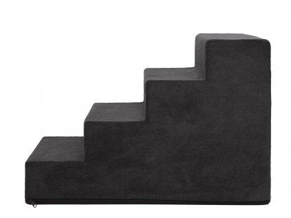 Schody pro psa SAVOY černé1