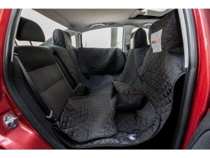 Ochranný potah na sedačky do auta - černý