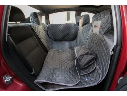 Ochranný potah na sedačky do auta - šedý