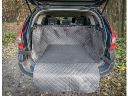 Ochranný potah kufru do auta šedý1