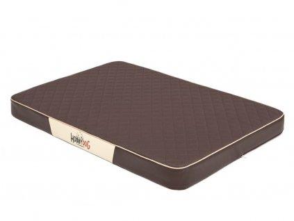 Ortopedická matrace pro psa Premium hnědá1