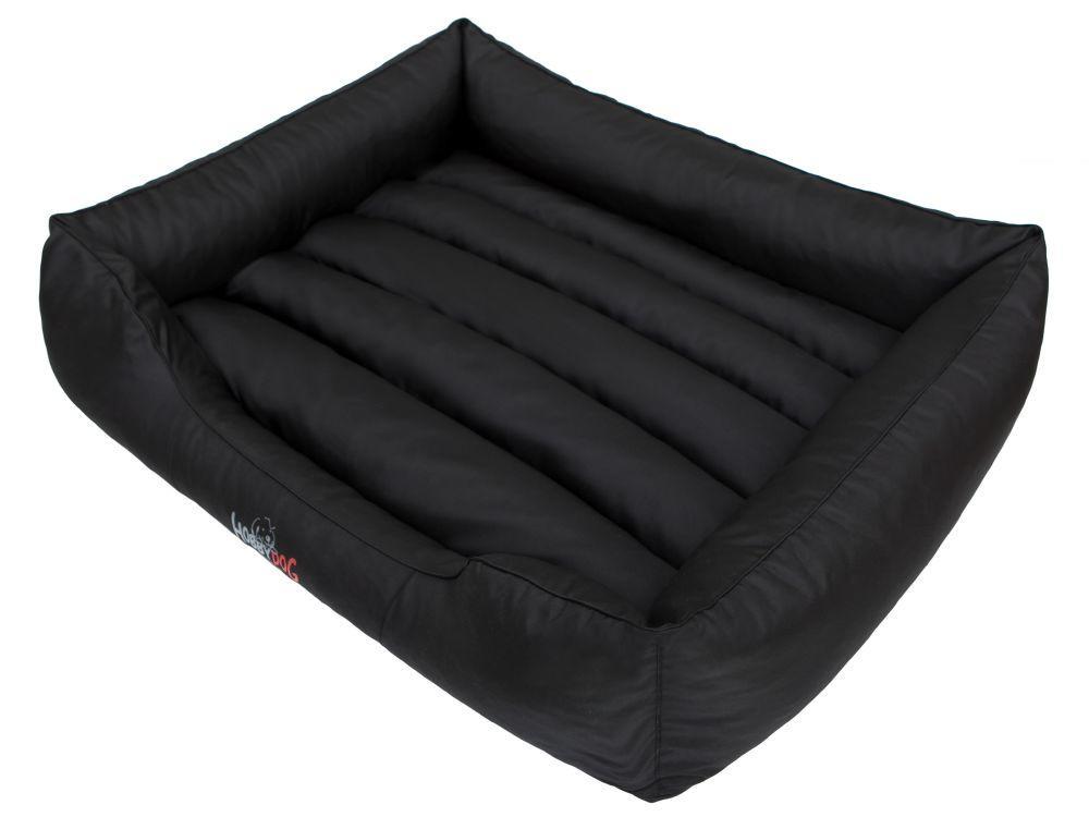 HobbyDog Pelíšek pro psa Comfort - černý Velikost: L - 65x50 cm (45x32 cm)