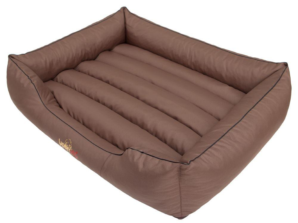 HobbyDog Pelíšek pro psa Comfort - světle hnědý Velikost: L - 65x50 cm (45x32 cm)