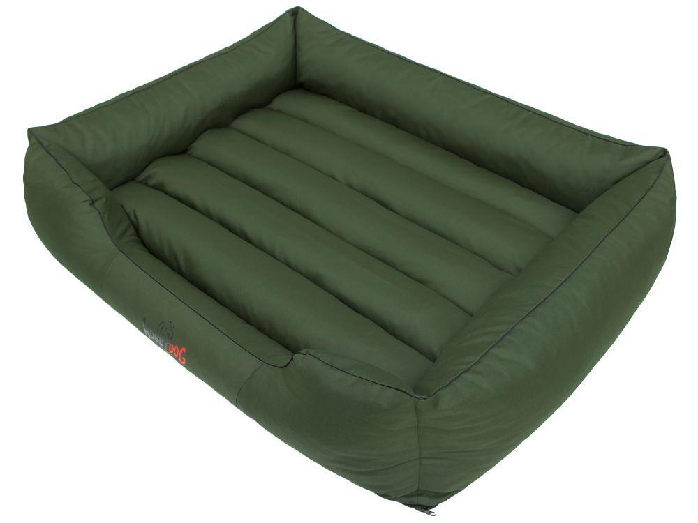 HobbyDog Pelíšek pro psa Comfort - zelený Velikost: L - 65x50 cm (45x32 cm)
