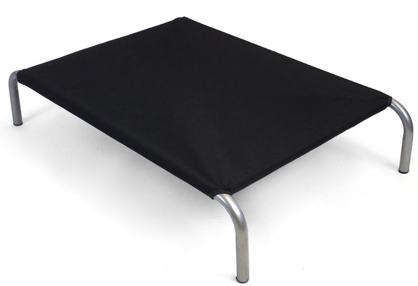Zdravotní lehátko pro psa HiK9 Canvas Black Velikost: VELIKOST: M - 59x92x18 cm