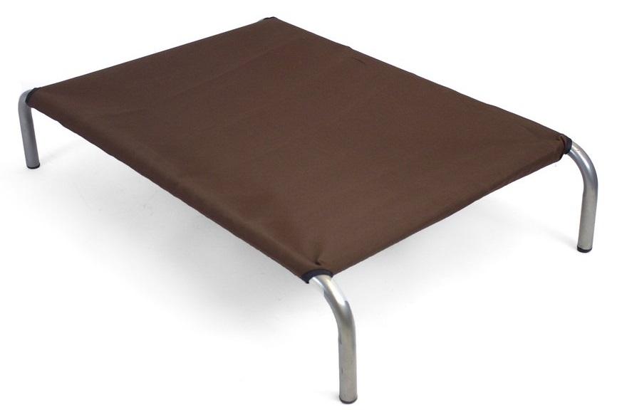 Zdravotní lehátko pro psa HiK9 Canvas Chocolate Velikost: VELIKOST: M - 59x92x18 cm