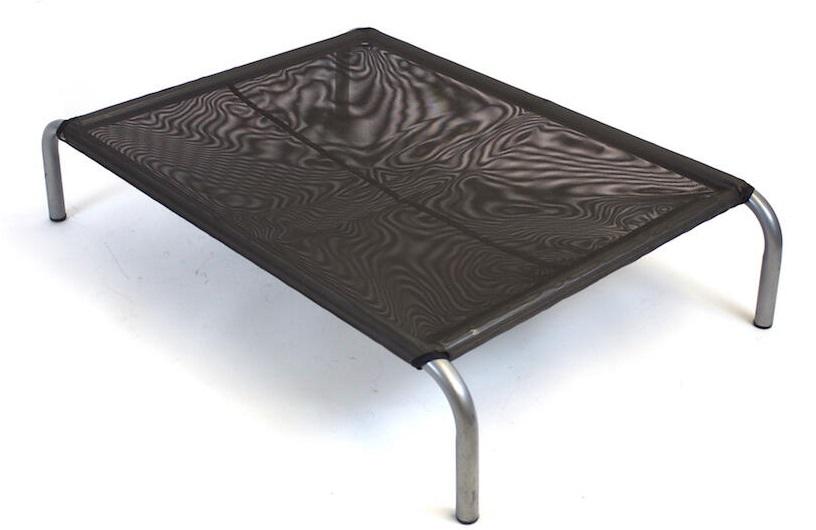 Zdravotní lehátko pro psa HiK9 Mesh Chocolate Velikost: VELIKOST: M - 59x92x18 cm