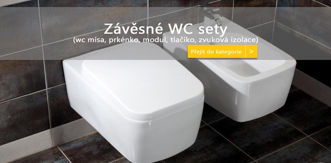 Závěsný WC set