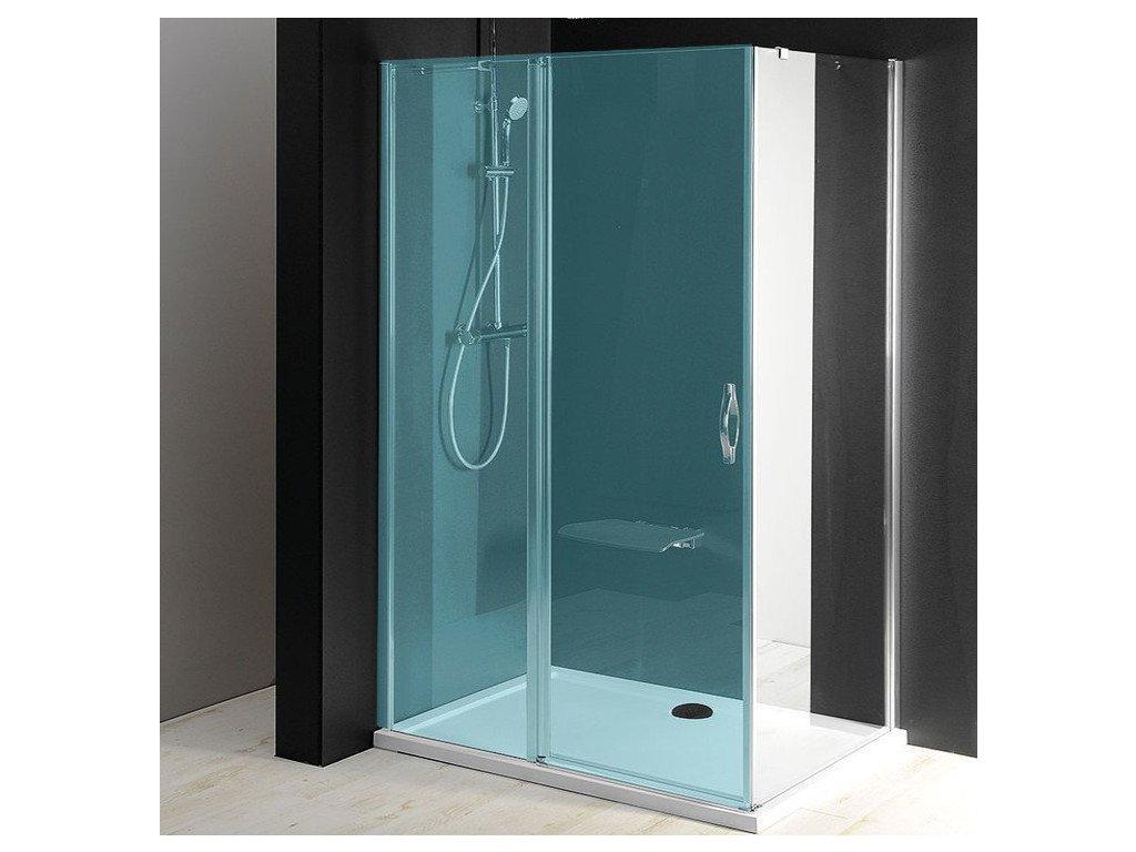 ONE boční stěna 900 mm, čiré sklo