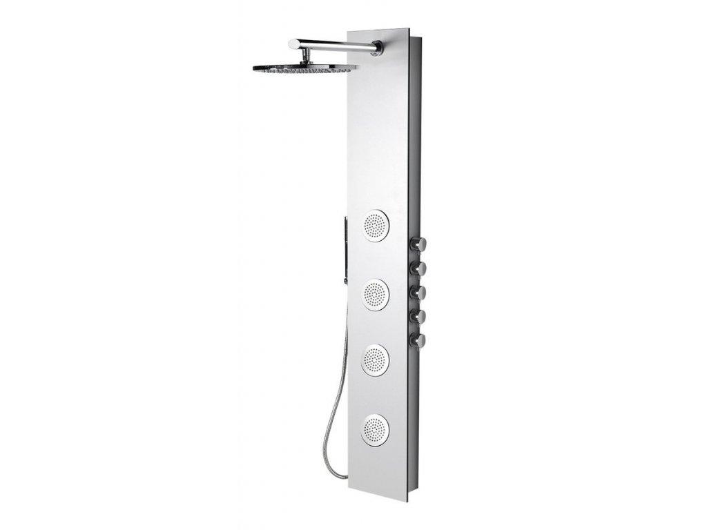 5SIDE ROUND sprchový panel 250x1550mm, bílá