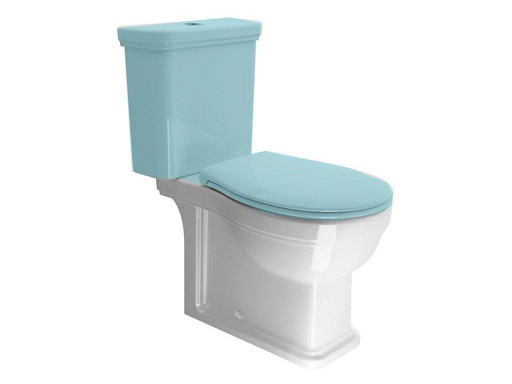 CLASSIC WC mísa kombi spodní/zadní odpad, bílá ExtraGlaze