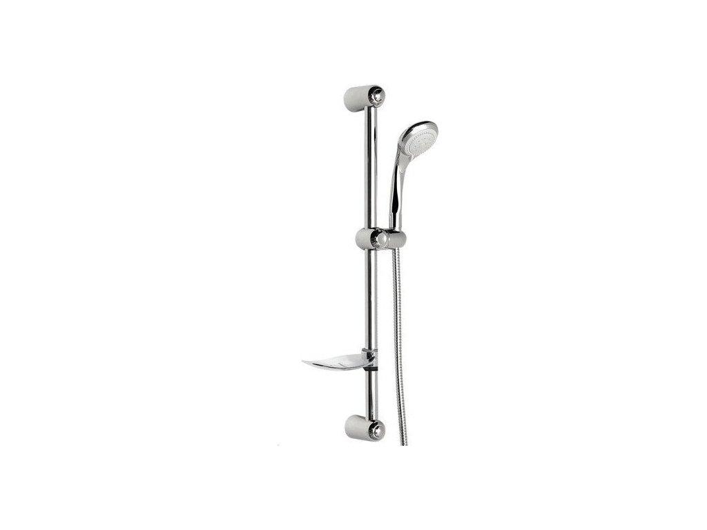 ANORA sprchová souprava s mýdlenkou, posuvný držák, chrom