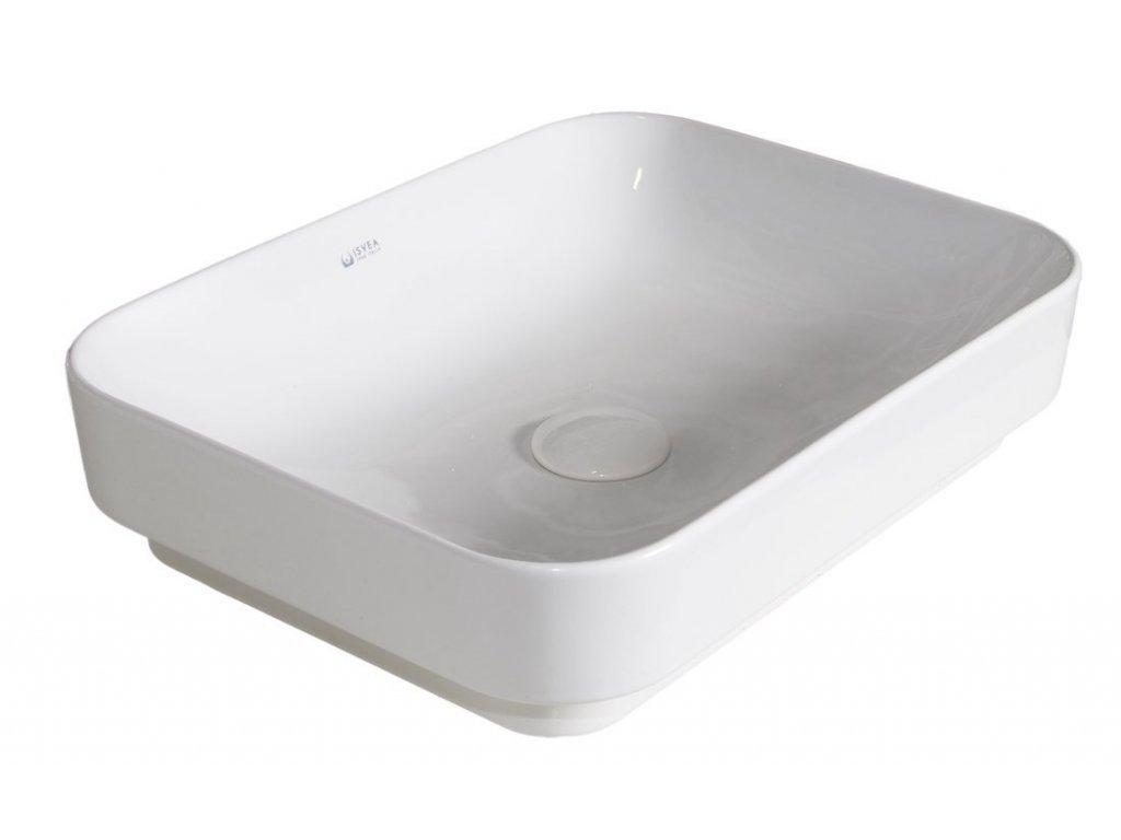 SOTT AQUA keramické umyvadlo 60x38cm, bílá