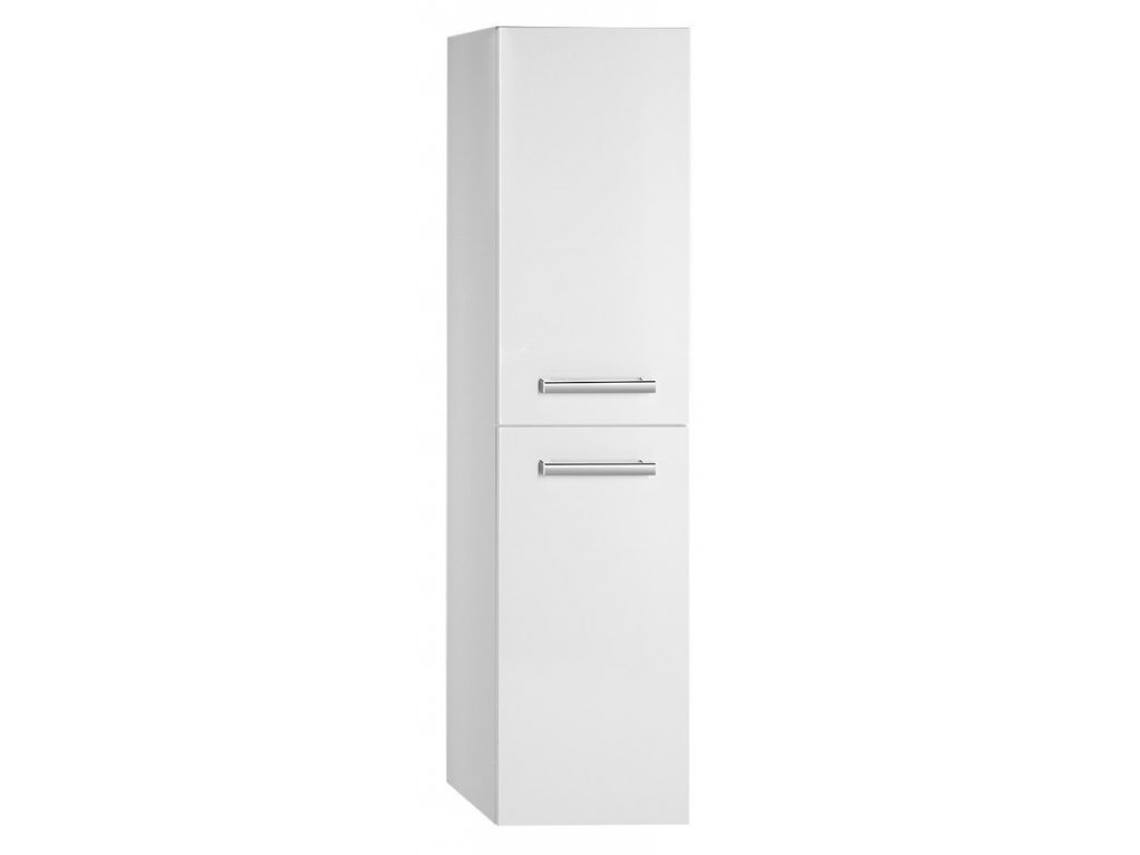 VEGA skříňka vysoká s košem, 40x150x31cm, levá/pravá,bílá