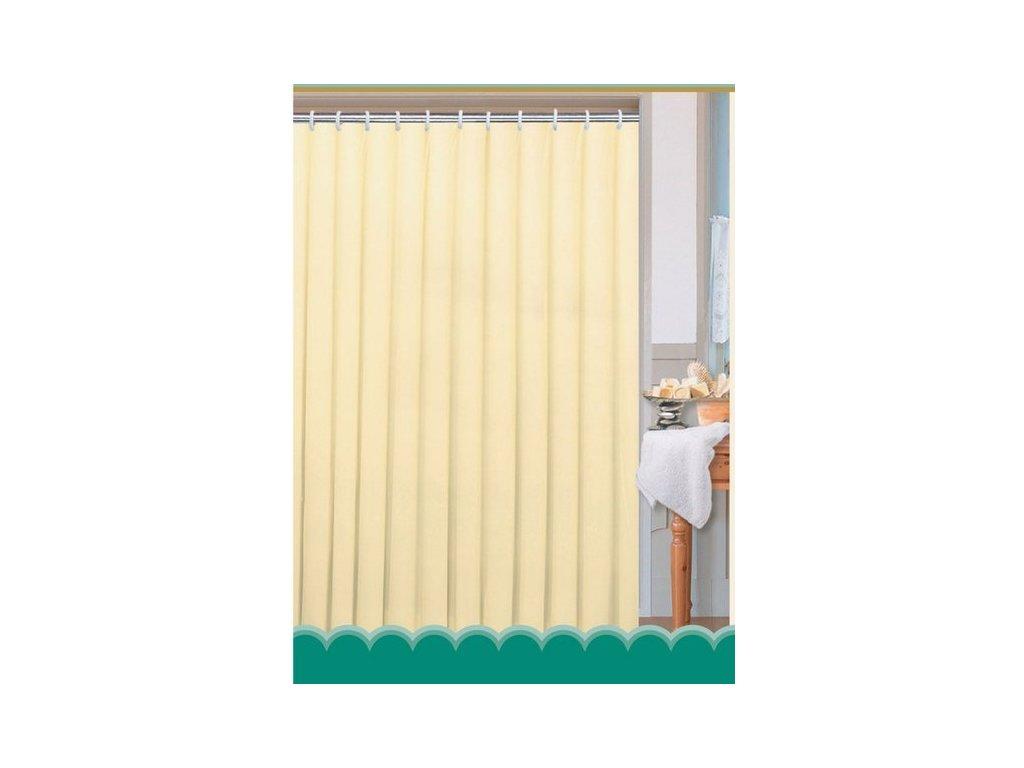Závěs 180x200cm, 100% polyester, jednobarevný béžový