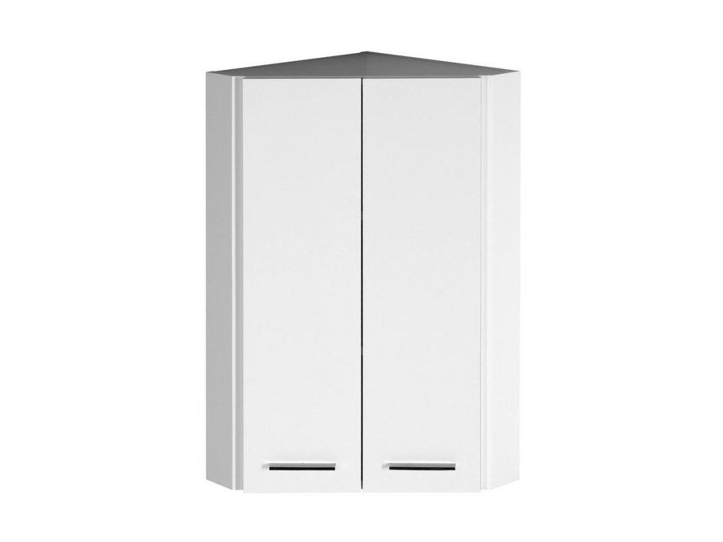 ZOJA/KERAMIA FRESH horní skříňka rohová 35x76x35cm, bílá