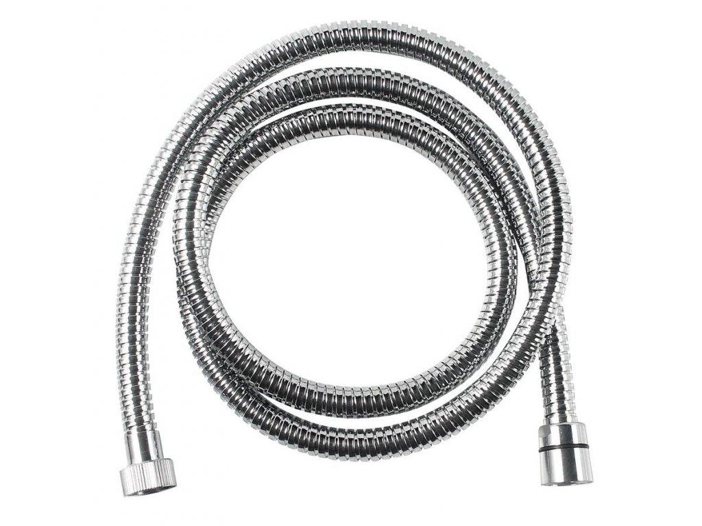 FLEX sprchová nerezová hadice s dvojitým zámkem, 200 cm