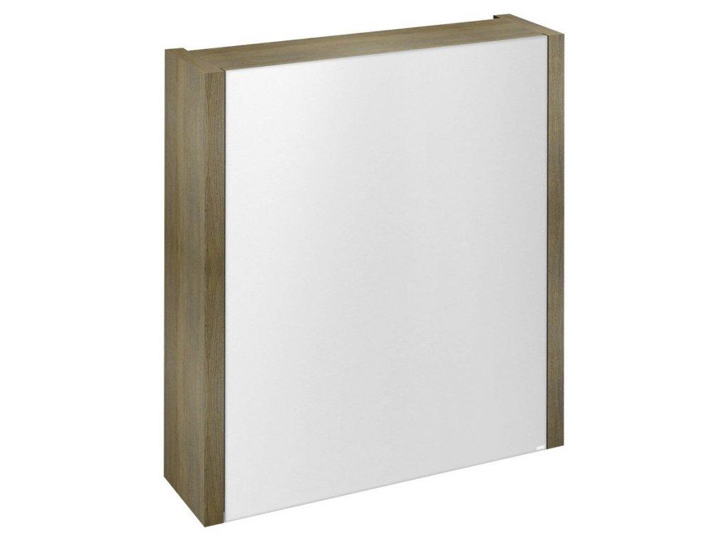 LARITA galerka 60x70x17cm,dub graphite