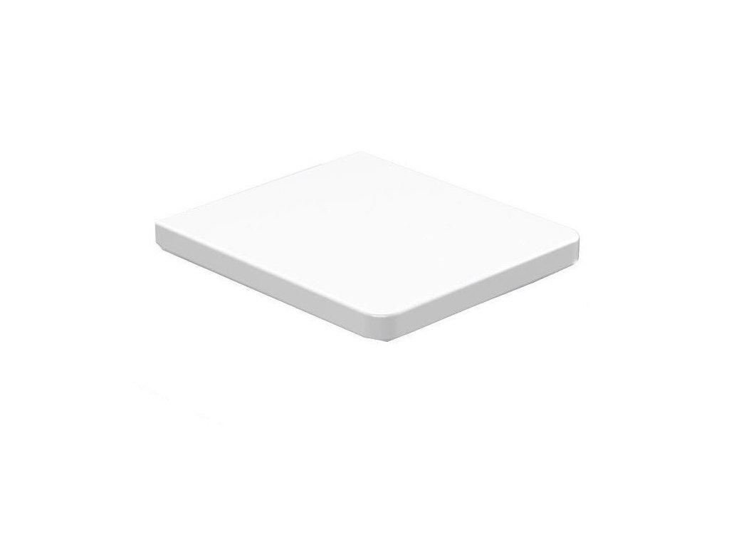 EGO WC sedátko Soft Close, duroplast, bílá