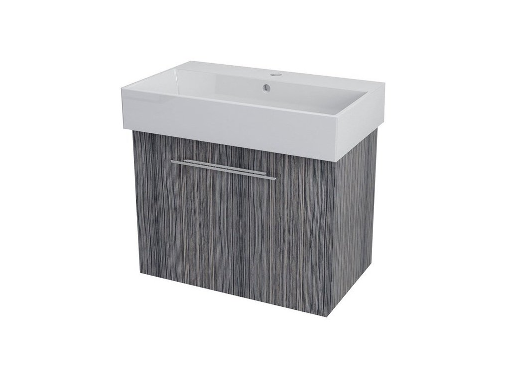 NATY umyvadlová skříňka 66,5x50x40cm, zebráno