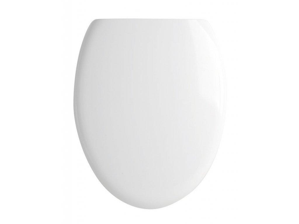 CITY WC sedátko soft close, duroplast, bílá/chrom