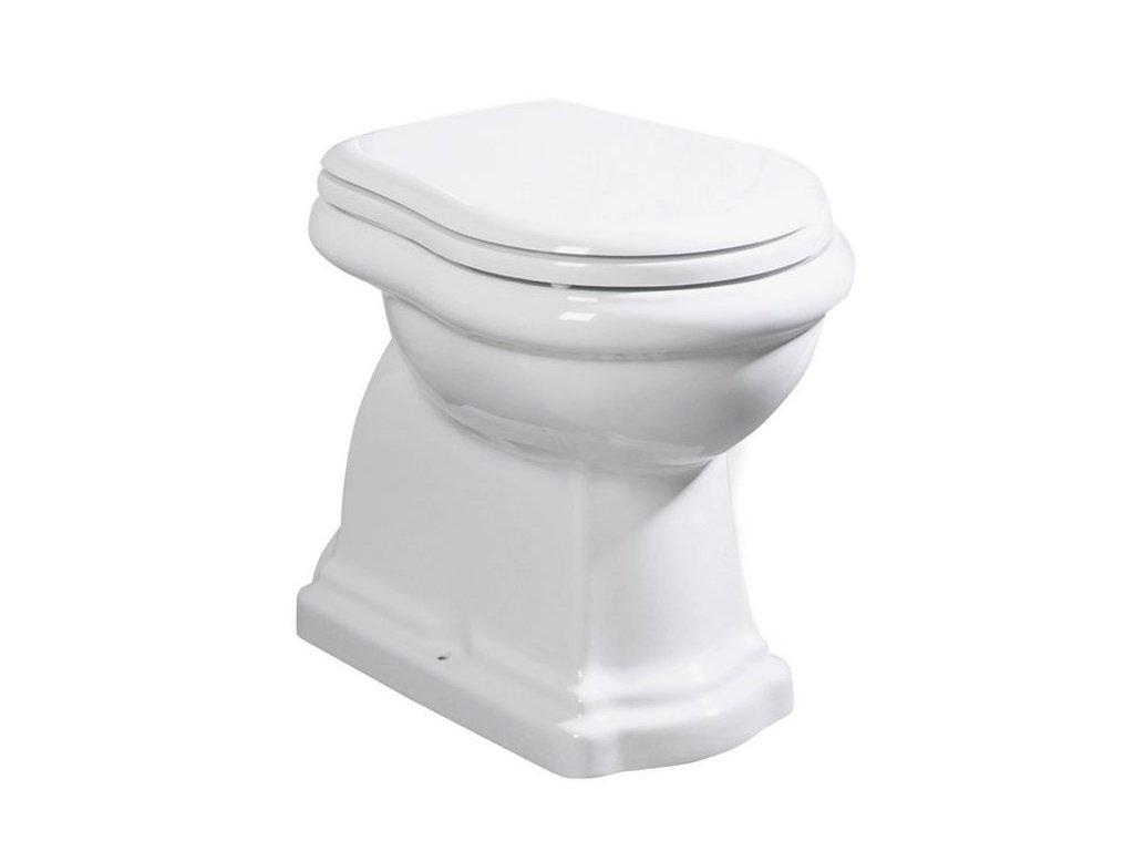 RETRO WC mísa stojící, 38,5x45x59cm, zadní odpad