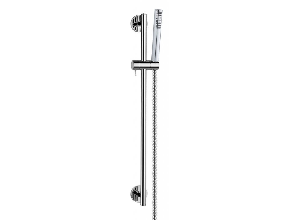JADE sprchová souprava, posuvný držák, 620 mm, chrom
