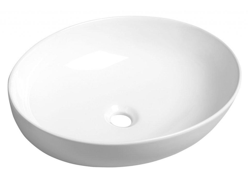 OFELIE keramické umyvadlo 52x13x40 cm, na desku