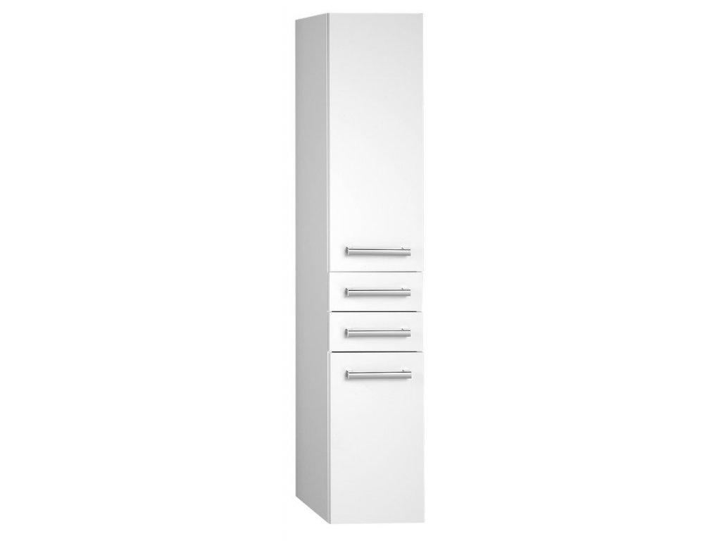 VEGA skříňka vysoká 35x184x31cm, bílá