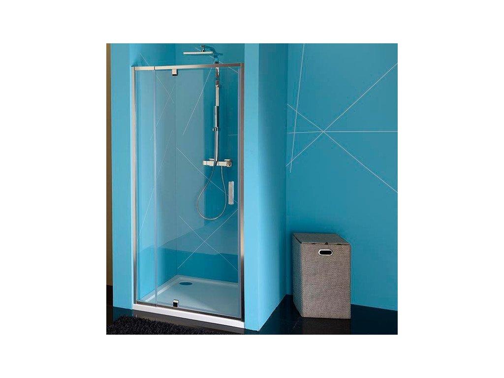 EASY LINE sprchové dveře otočné 760-900mm, čiré sklo