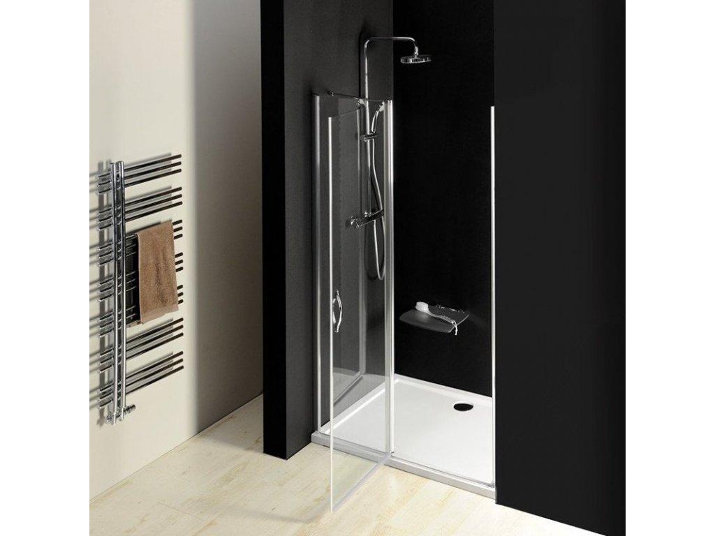 ONE sprchové dveře do niky 1400 mm, čiré sklo