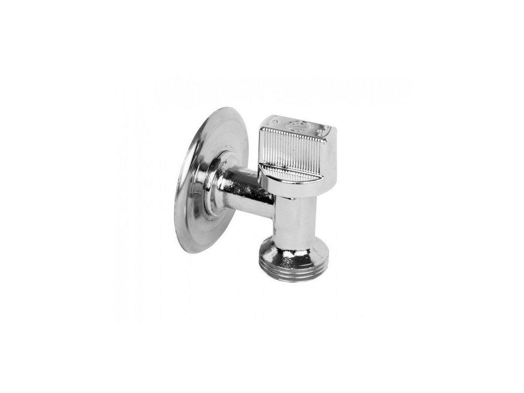 ARCO pračkový ventil do malých prostor L-86 1/2'x3/4', chrom