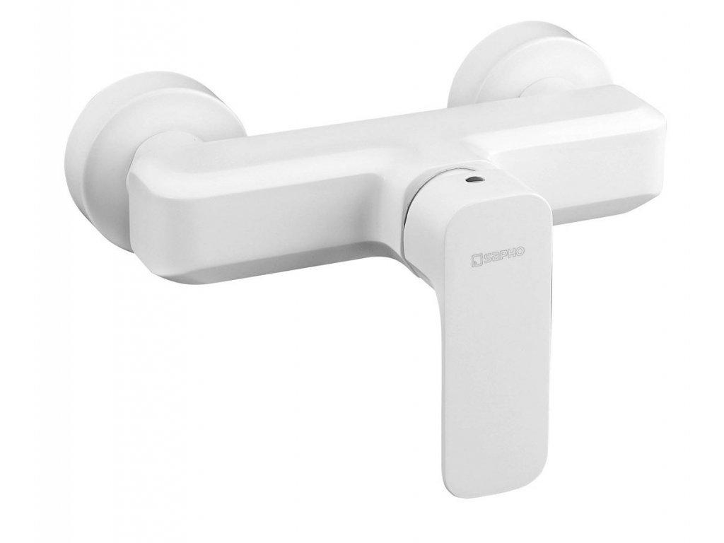 SPY nástěnná sprchová baterie, bílá mat