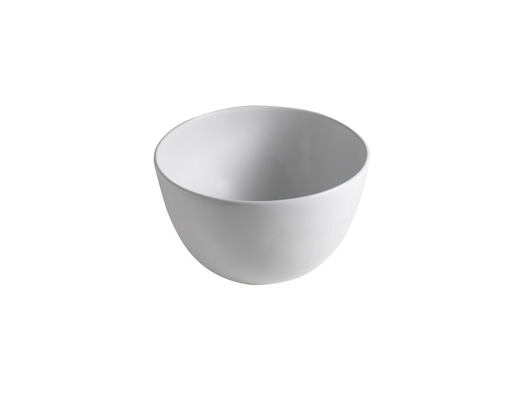 DOME keramické umyvadlo 44,5x27x44,5 cm, na desku, bez přepadu