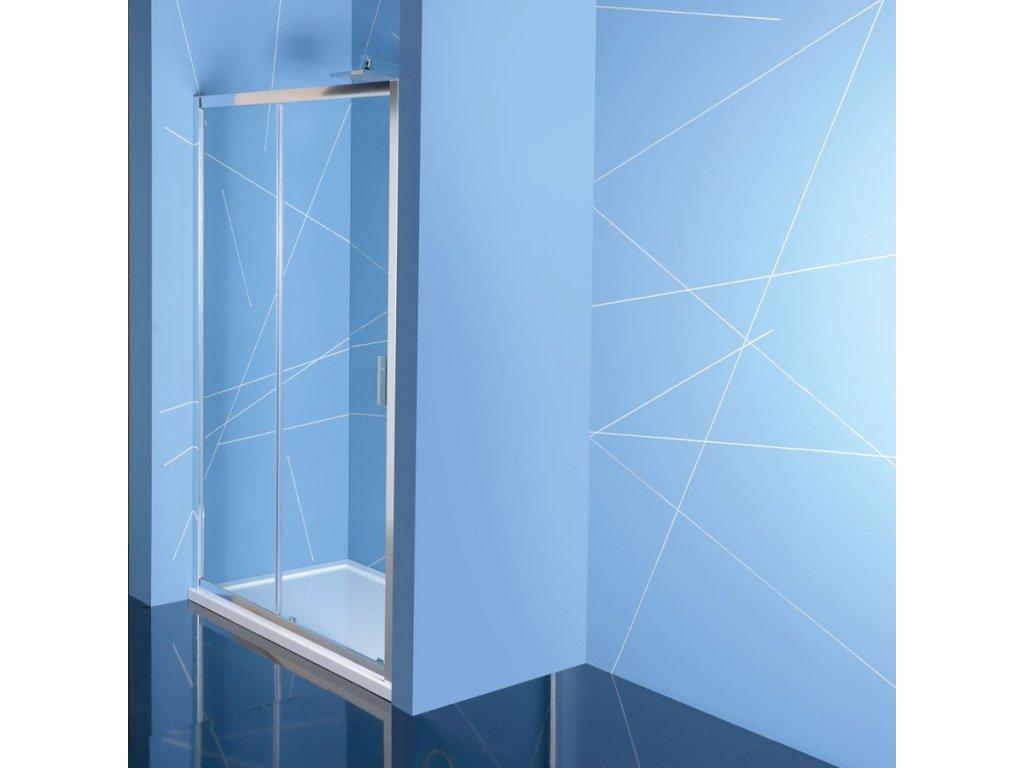 EASY LINE sprchové dveře 1400mm, čiré sklo