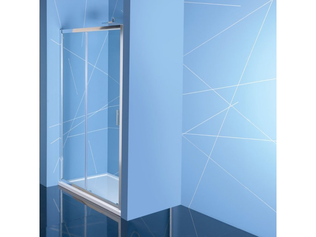 EASY LINE sprchové dveře 1500mm, čiré sklo