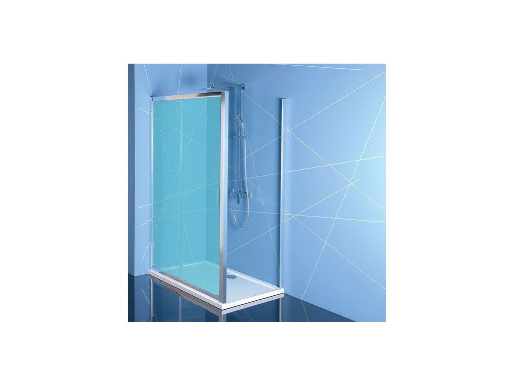 EASY LINE boční stěna 1000mm, čiré sklo