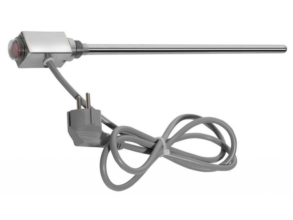 CARUSO topná tyč 300 W, broušený nerez