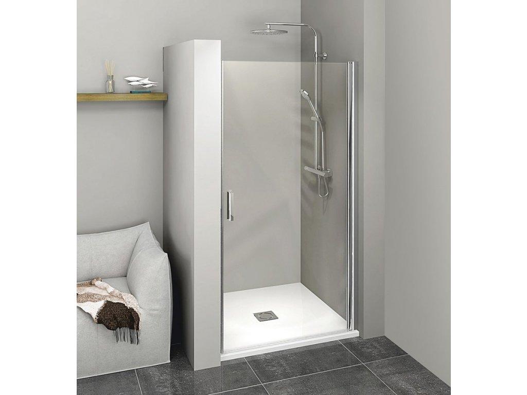 ZOOM LINE sprchové dveře 800mm, čiré sklo