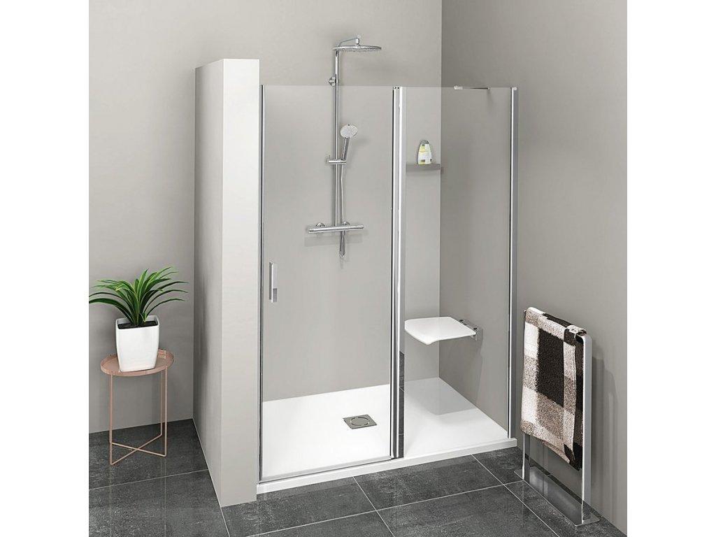 ZOOM LINE sprchové dveře 1400mm, čiré sklo